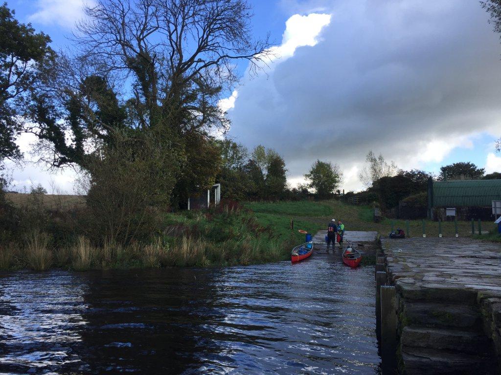 Paddling on river foyle slow adventure