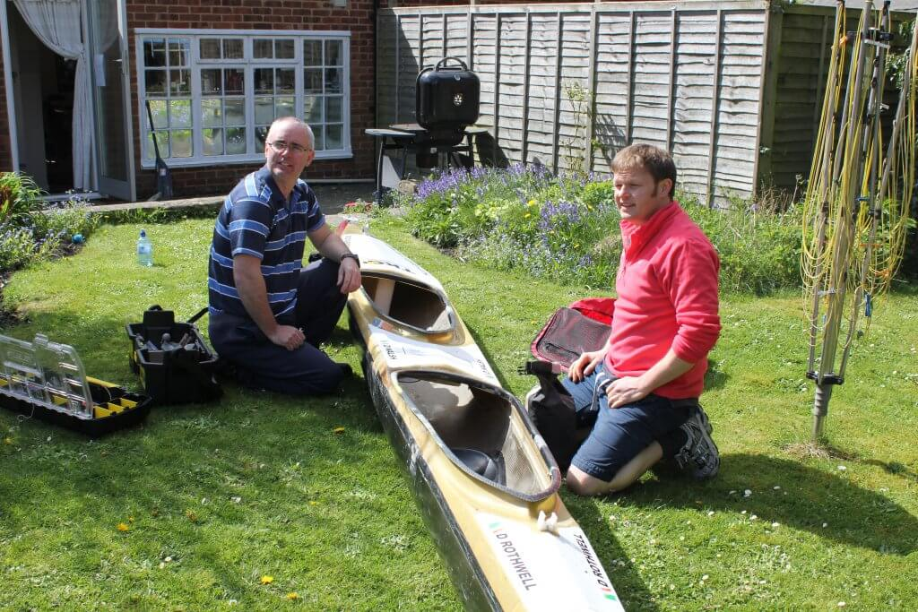 Devizes to Westminster by canoe