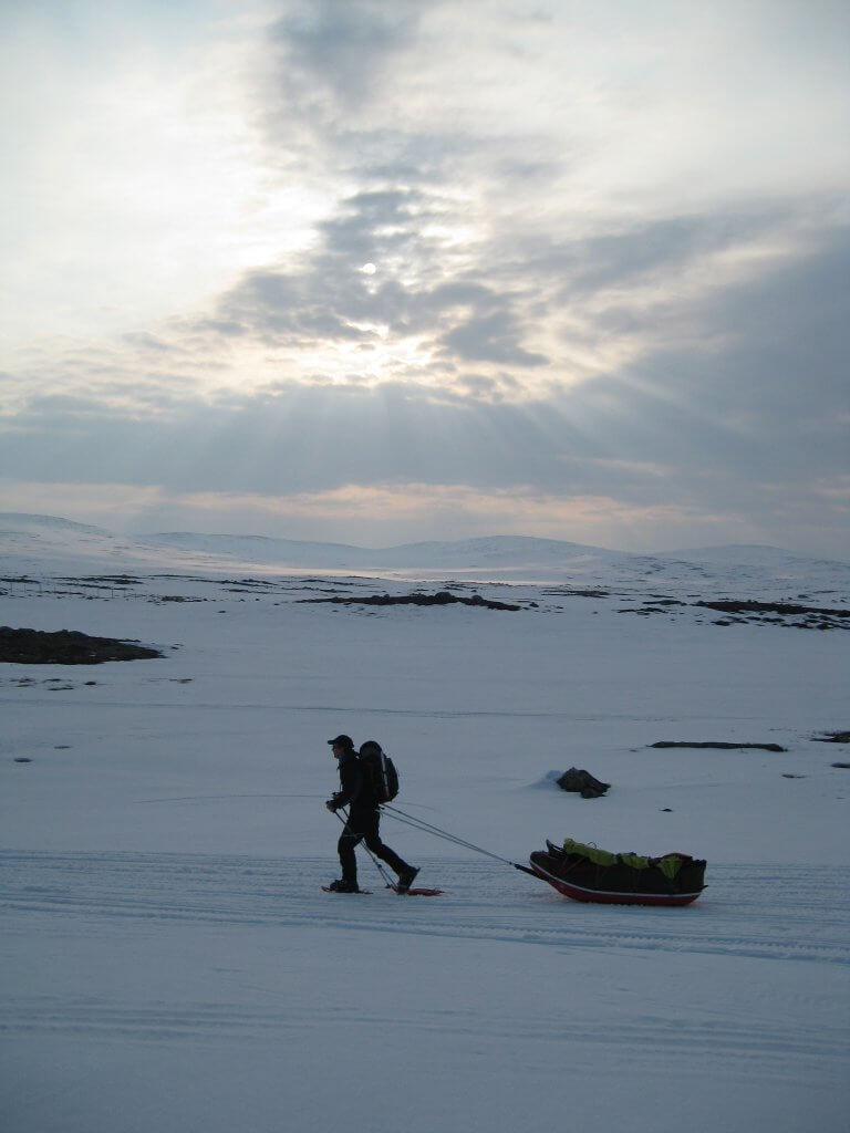 Arctic Ice-Capades: Ski Touring in the Finnish Arctic