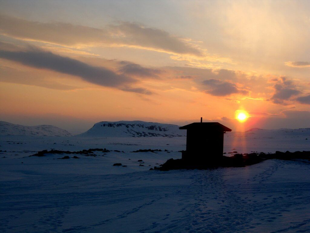 Ski Touring in the Finnish Arctic