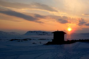 Ski Touring in the Finnish Arctic