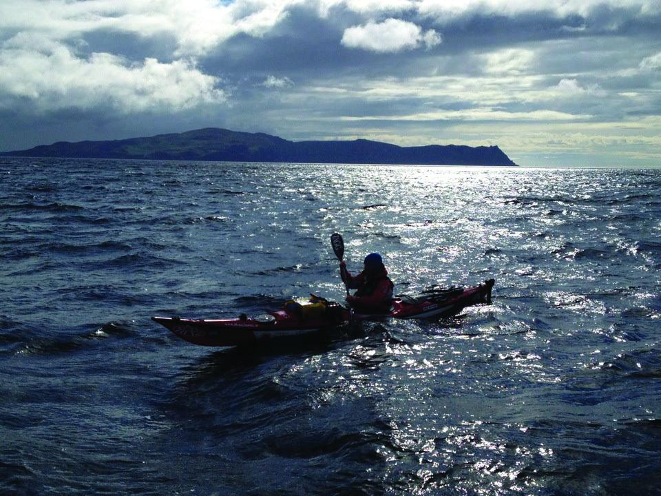 Mike Jones at sea