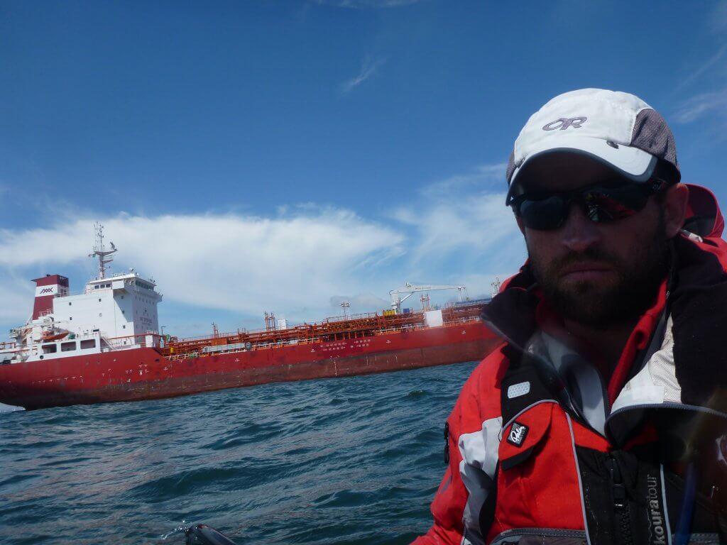 Avoiding ships in Dublin Bay