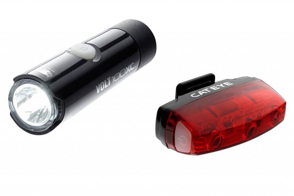 gift ideas for cyclists Cateye-Volt-commuter-light-set