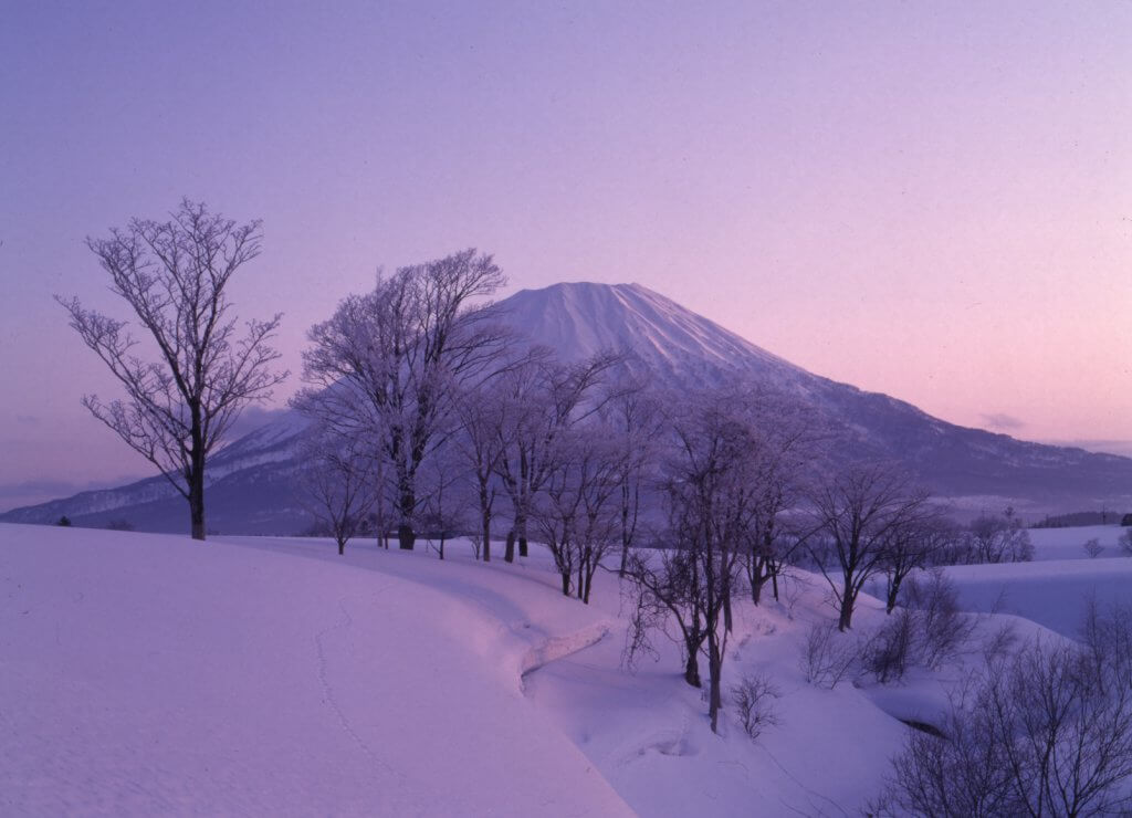 The Niseko ski area
