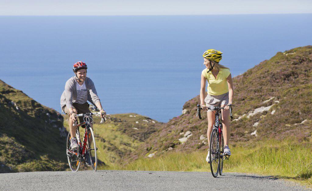 Cycling Mamore Gap