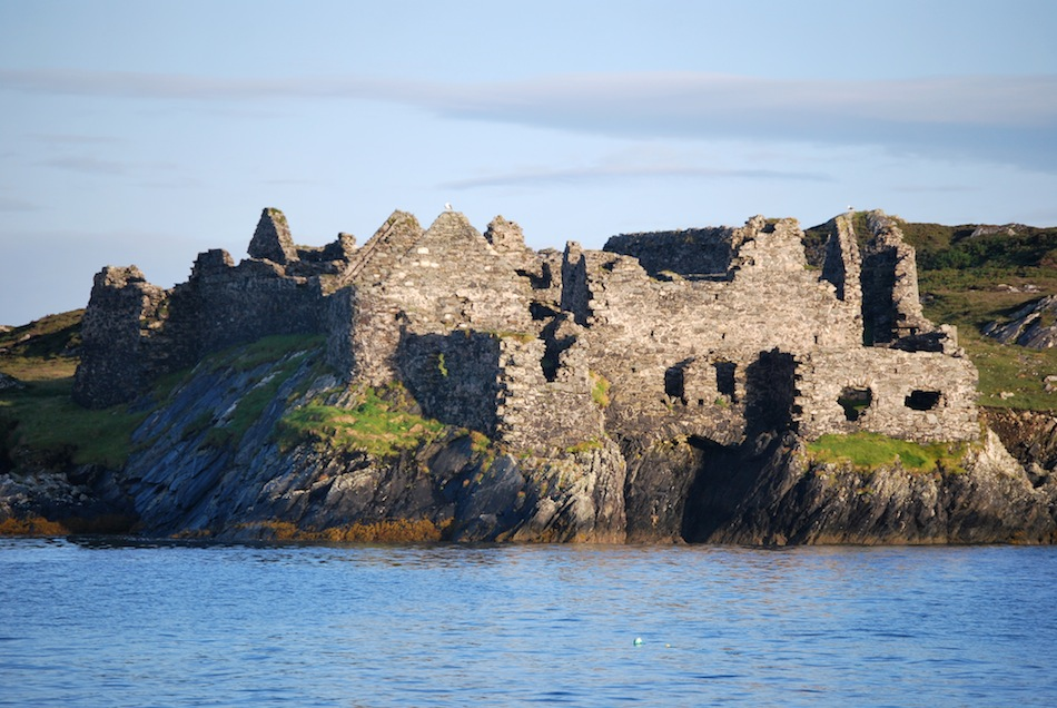 Ruins on Inishbofin