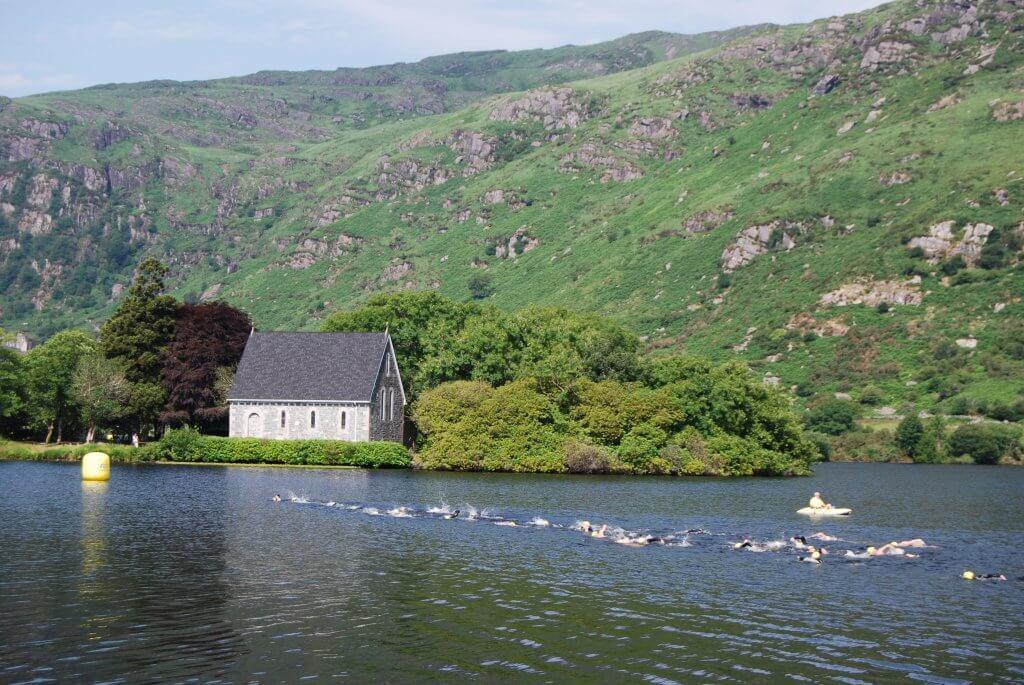 Open-water swimming race, Ireland