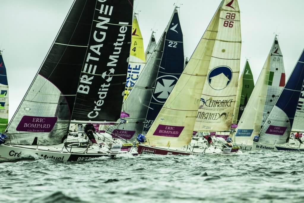 The start of Leg 3 of the Figaro