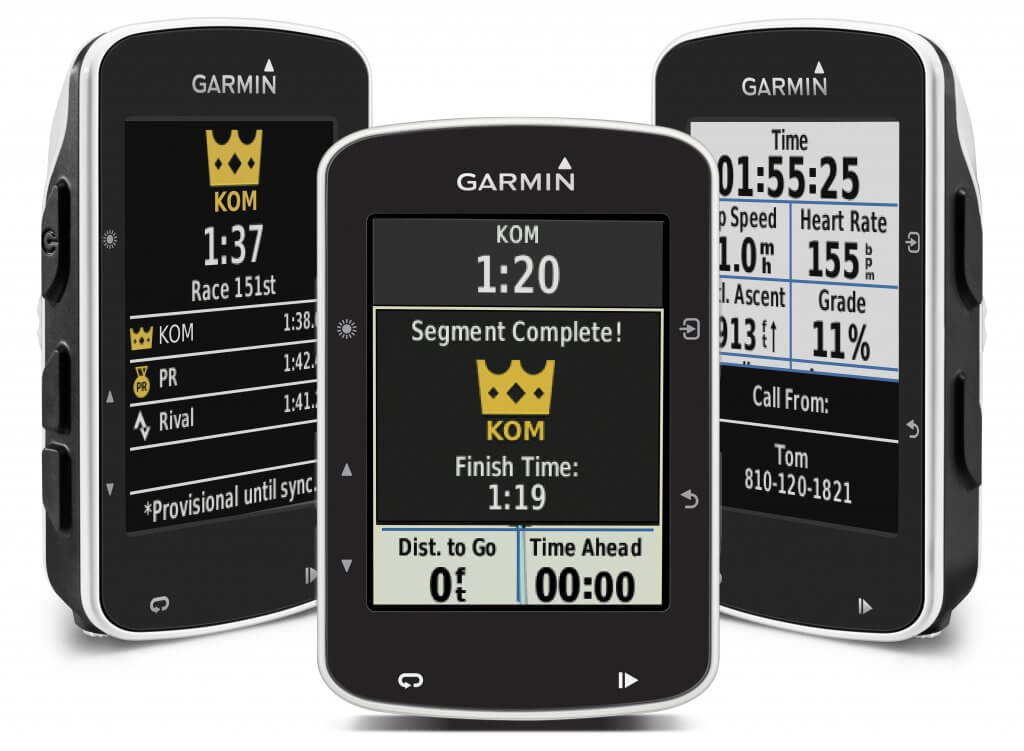 gift ideas for cyclists Garmin Edge 520