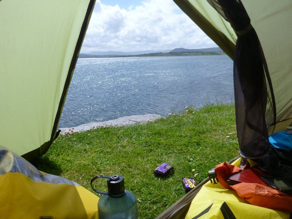 View from the Tent, Valentia Island