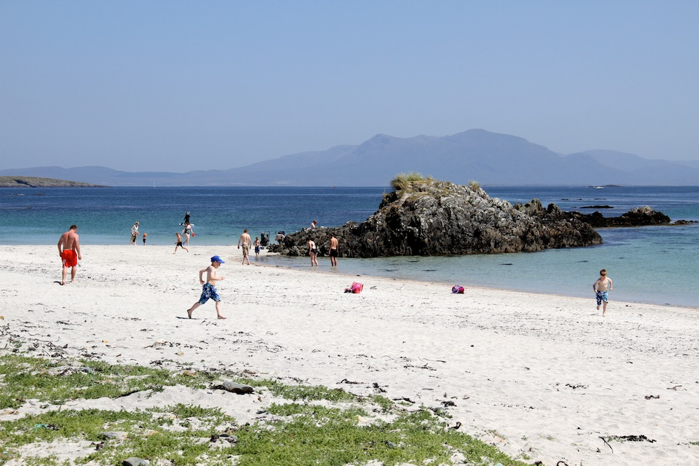 White beaches on Inishbofin