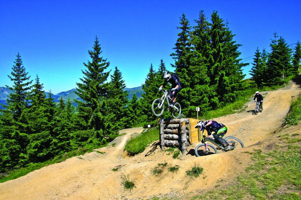 Les Gets mountain biking trails