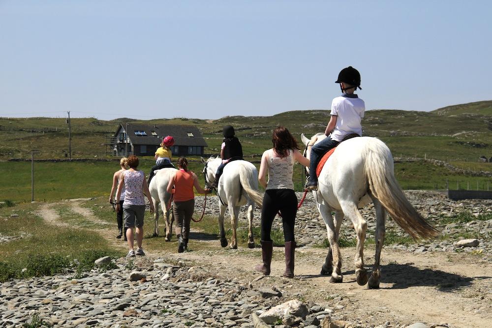 Horseriding Inishbofin