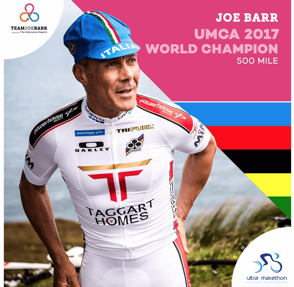 Joe Barr World Champion
