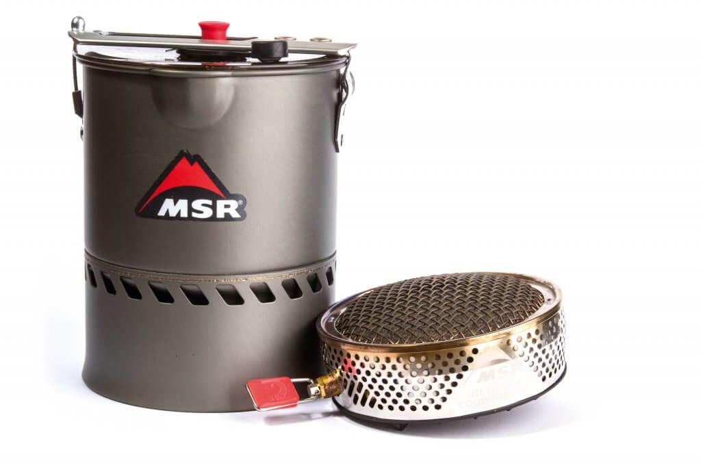 MSR-reactor stove