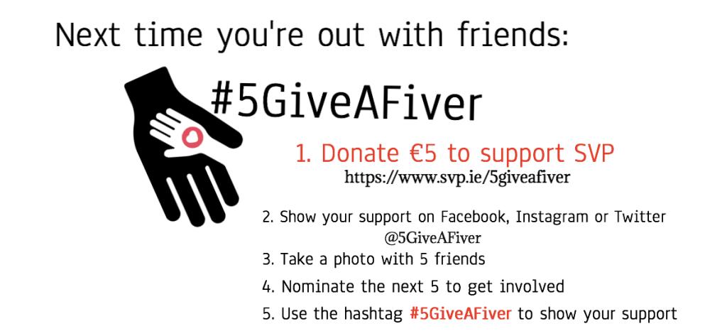 #5GiveAFiver