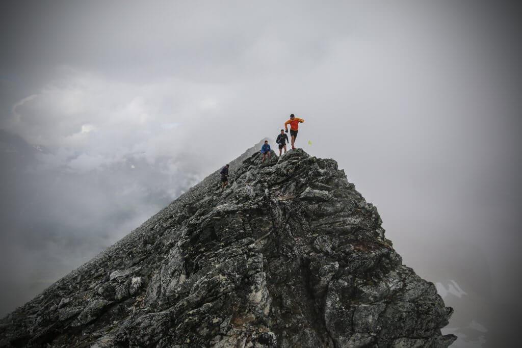 Kilian Jornet in the Tromso Skyrace