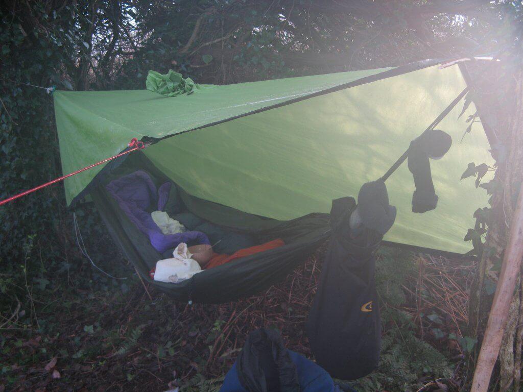 hammock biouvac near daingean