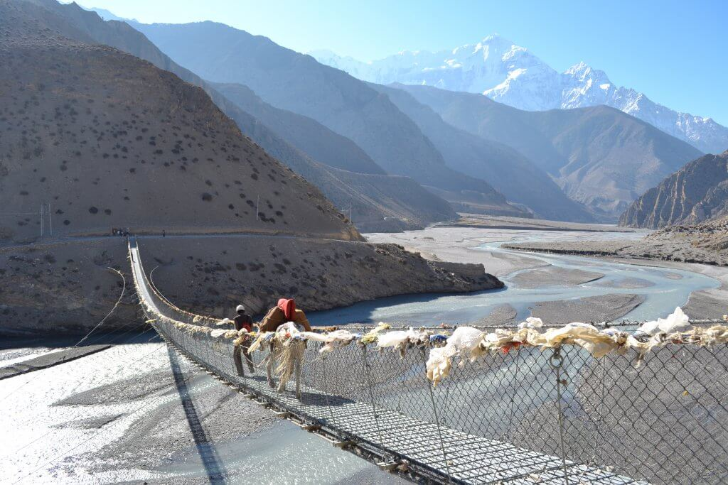 Suspension bridge Nepal
