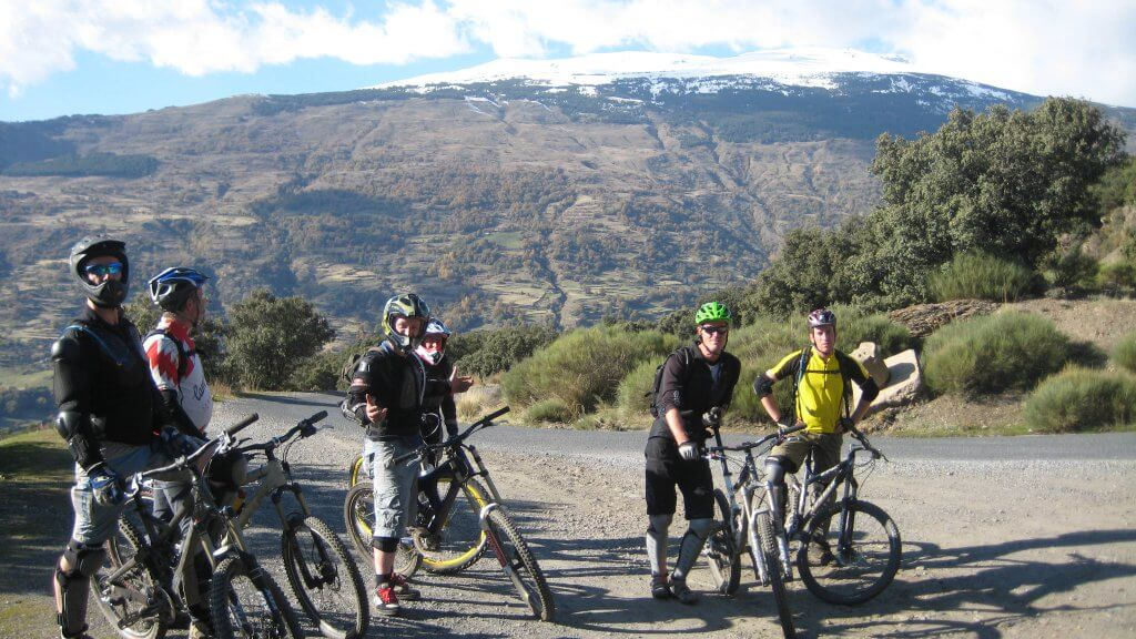 Mountain biking spain