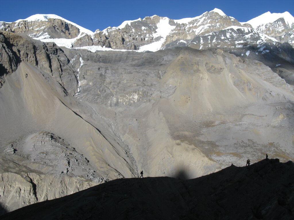 Annapurna circuit acclimatising