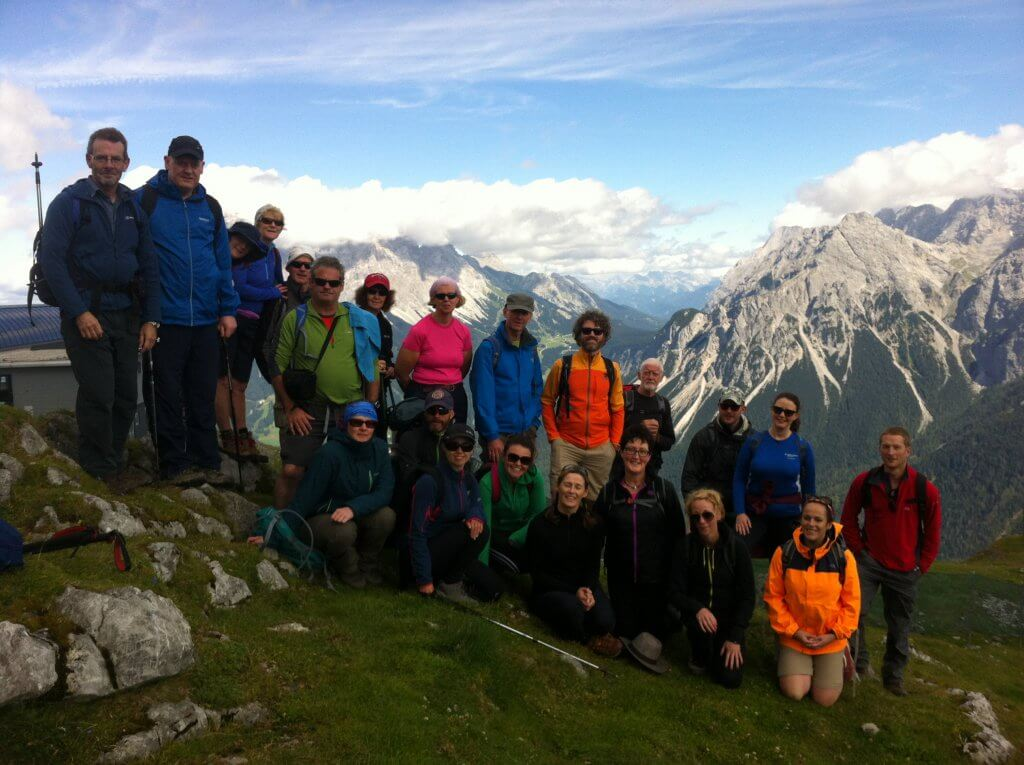 Hiking in the Austrian Tirol