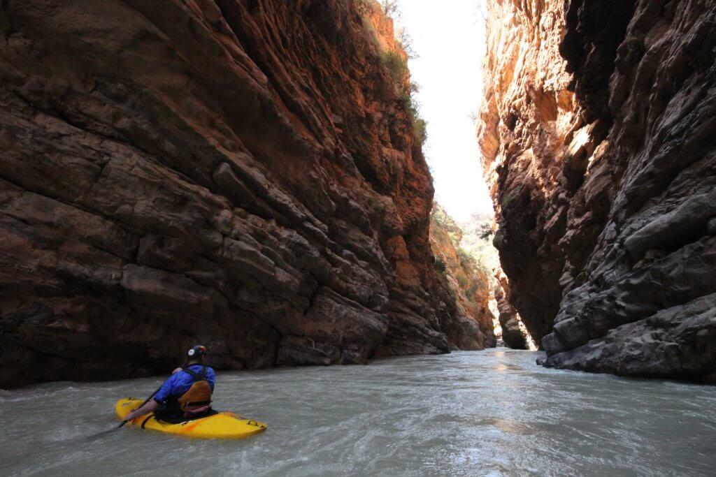 Ahansal river gorge