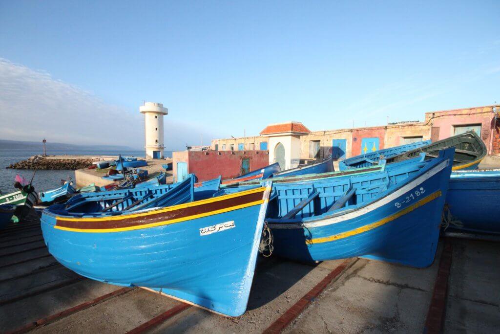Boat trip Morocco