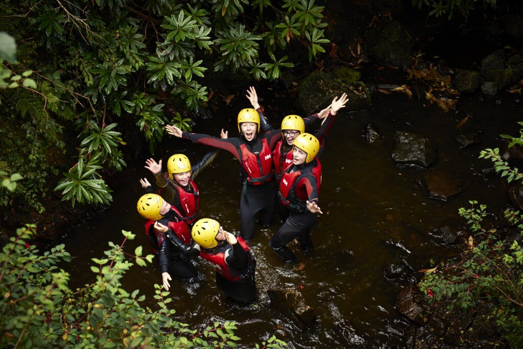 Killary Kids Canyoning