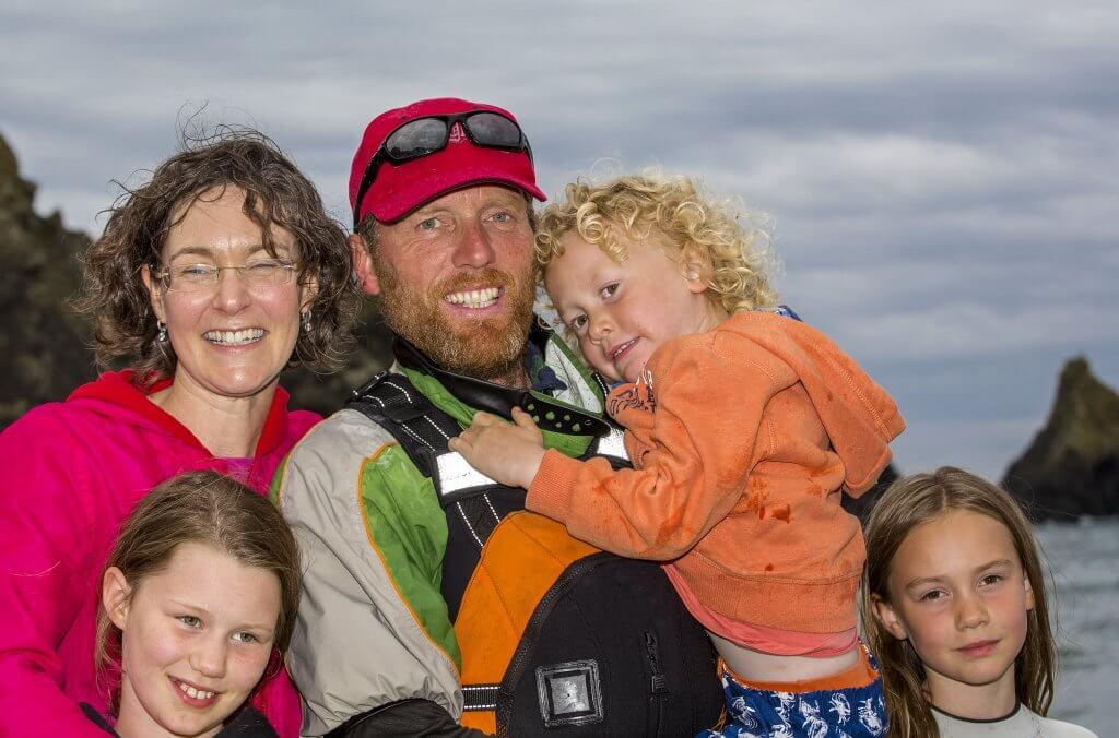 Mick O'Meara and family