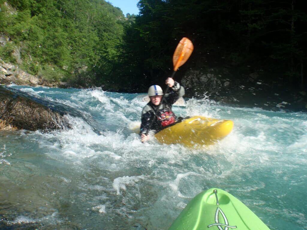 White water kayaking in montenegro