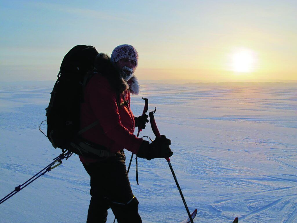 Sunset North Pole