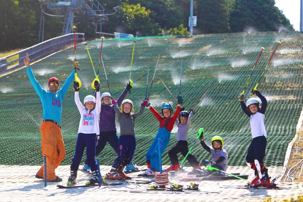 Ski club summer race camp