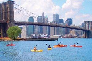 sea kayaking new york