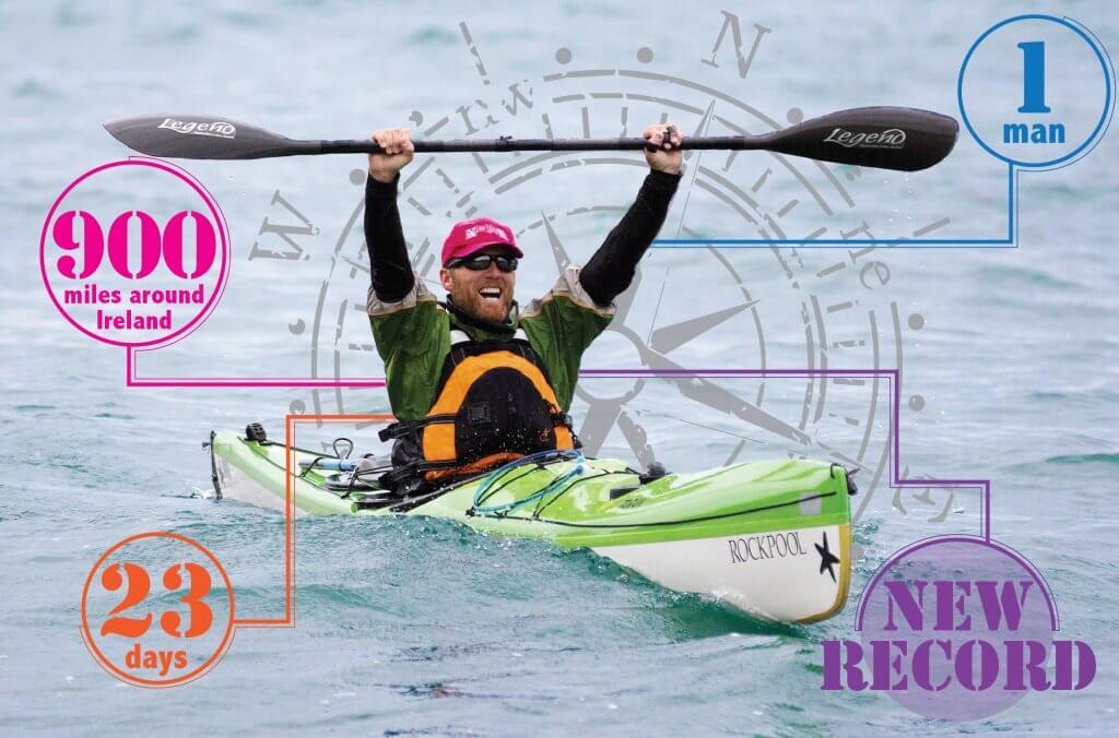 Mick O'Meara solo circumnavigation of Ireland.