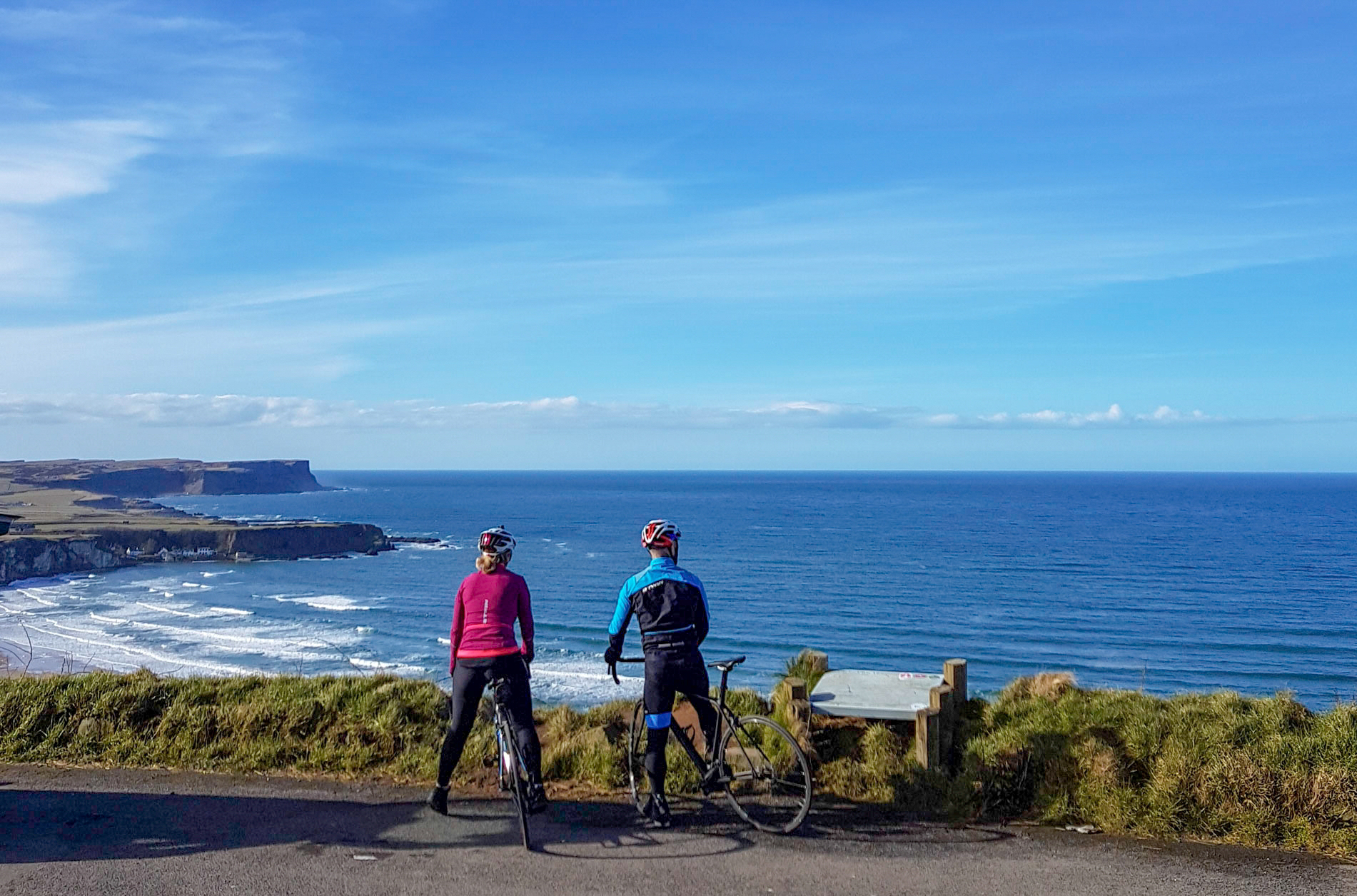 cycling the causeway coastal route