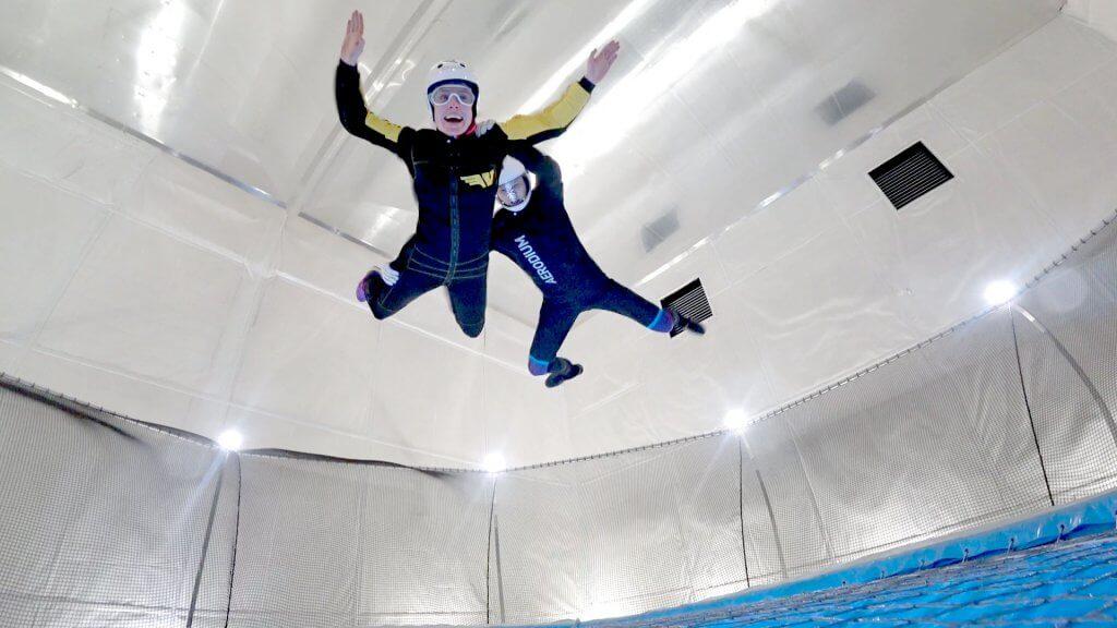 48 hours in Belfast Indoor Skydiving