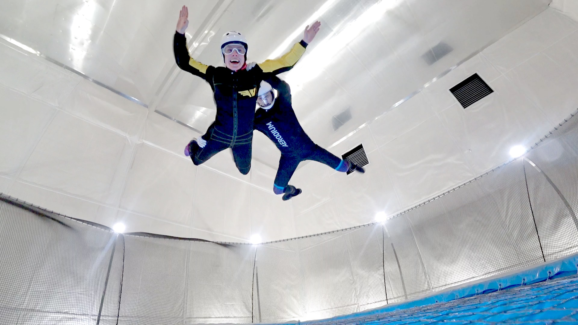 48 hours in Belfast Indoor Skydiving