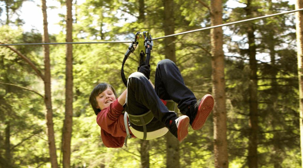 Family friendly activities ireland Zipit