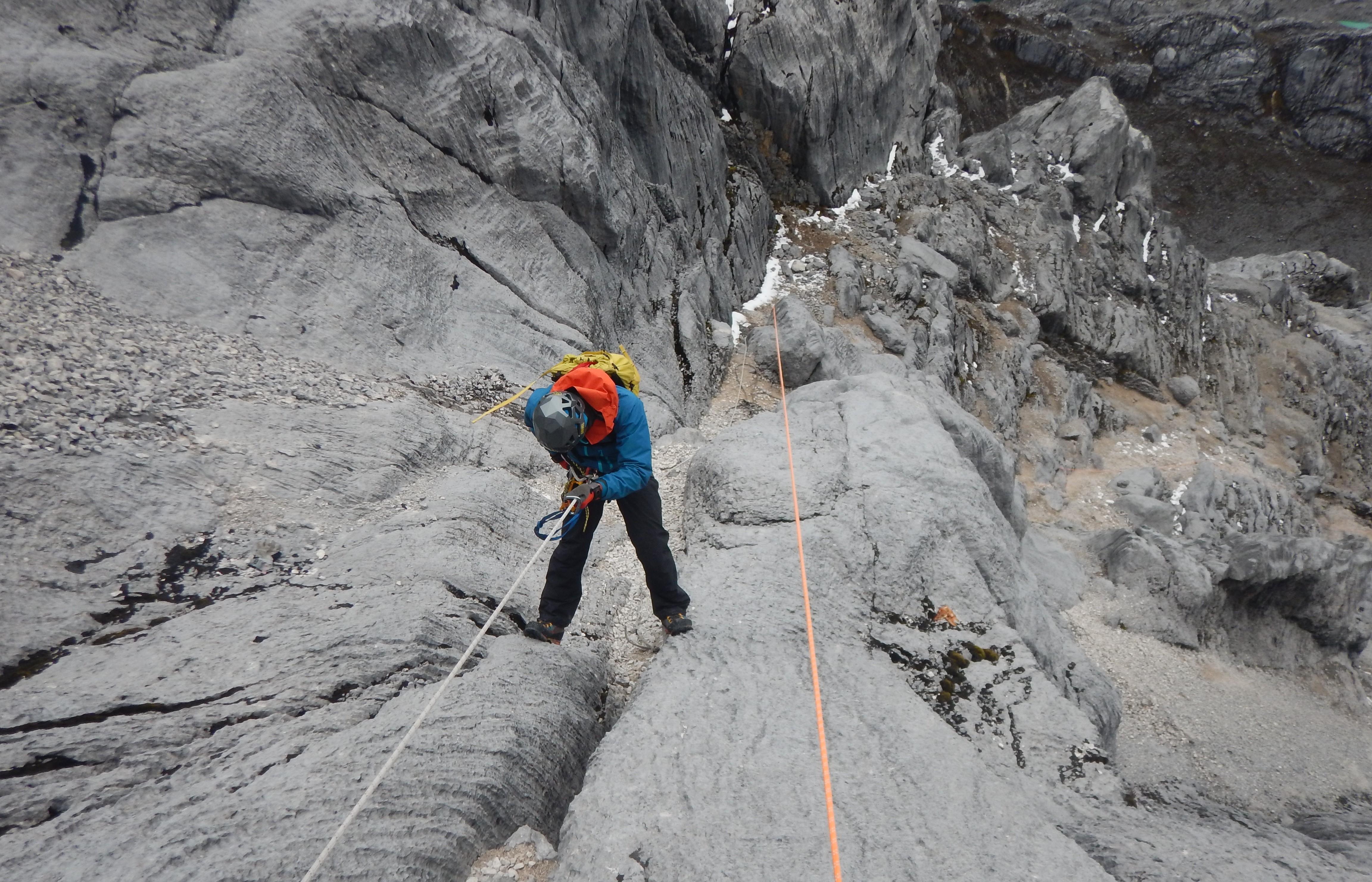 Climbing Carstensz Pyramid