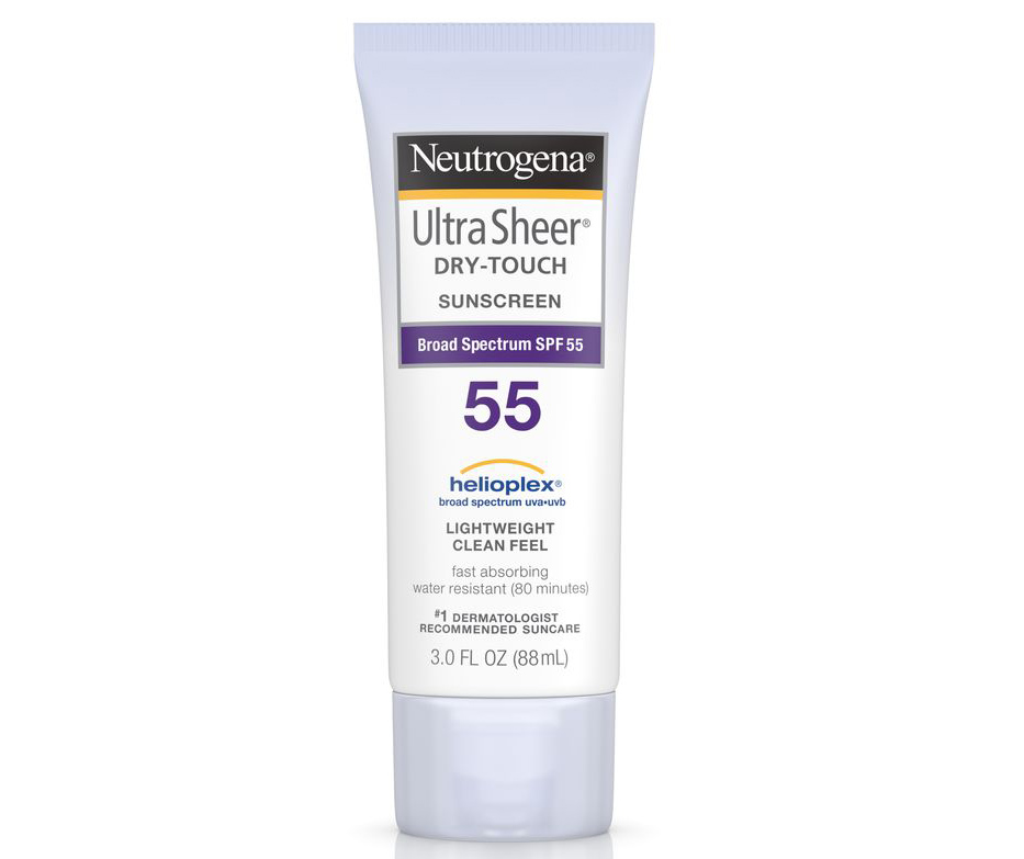 Sunscreen for athletes