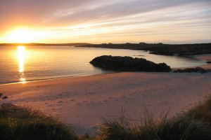 best eco friendly campsites in Ireland Clifden Eco Beach Camping & Caravanning Park6