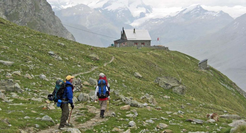 best hut to hut hikes in Europe HauteRoute