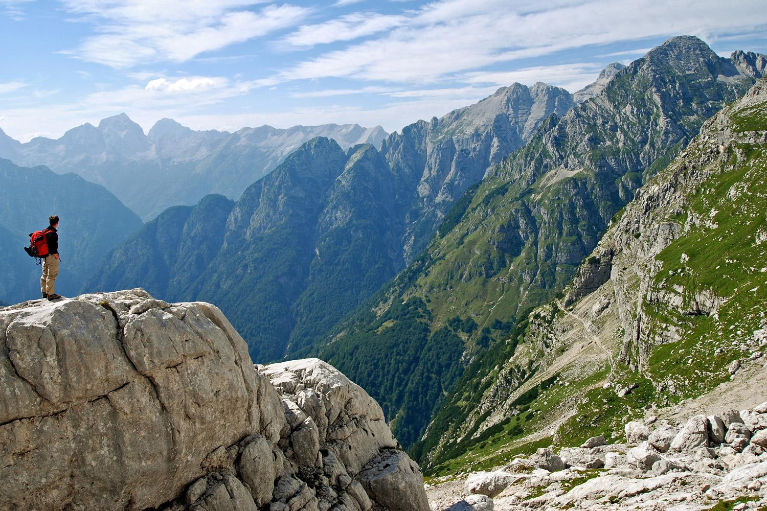 julian alps hut to hut hiking t