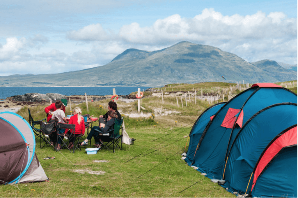 Camping in Galway