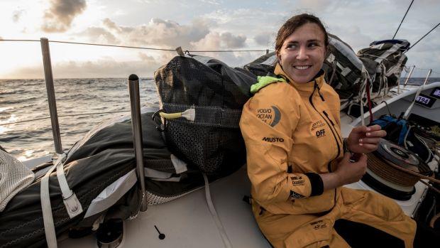Annalise Murphy Volvo Ocean Race