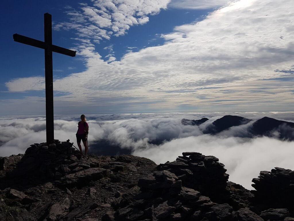 Nikki Bradley 4 peaks challenge