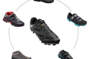 mountain biking shoes