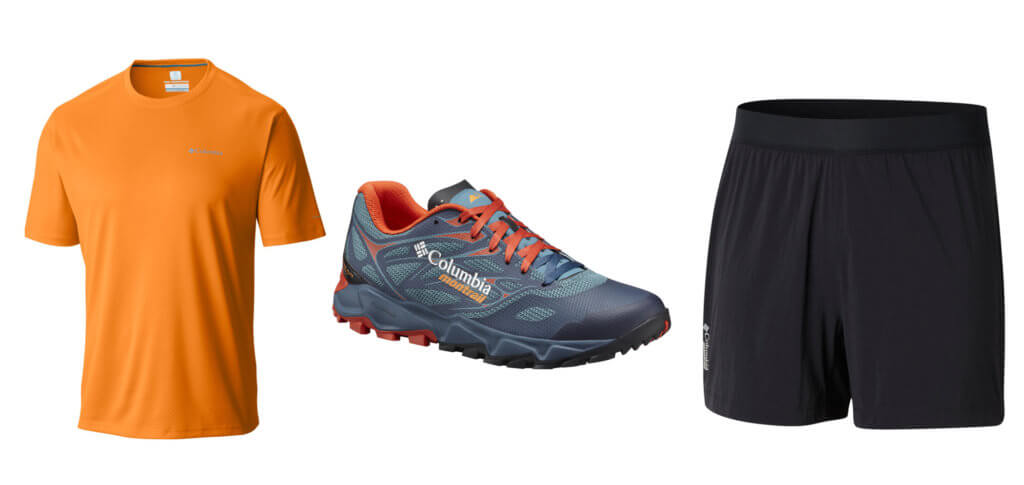 Columbia Gear for UTMB